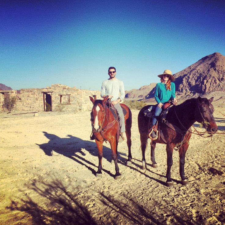 #30 - Horse back riding in the desert. A truly memorable moment experienced in Terlingua, West Texas  #horseriding #texas #bucketlist