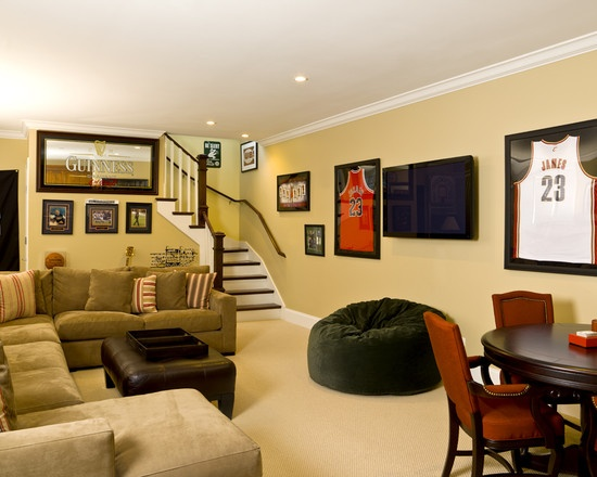 The Man Cave Sports Bar Reno : Images about home decor basement on pinterest