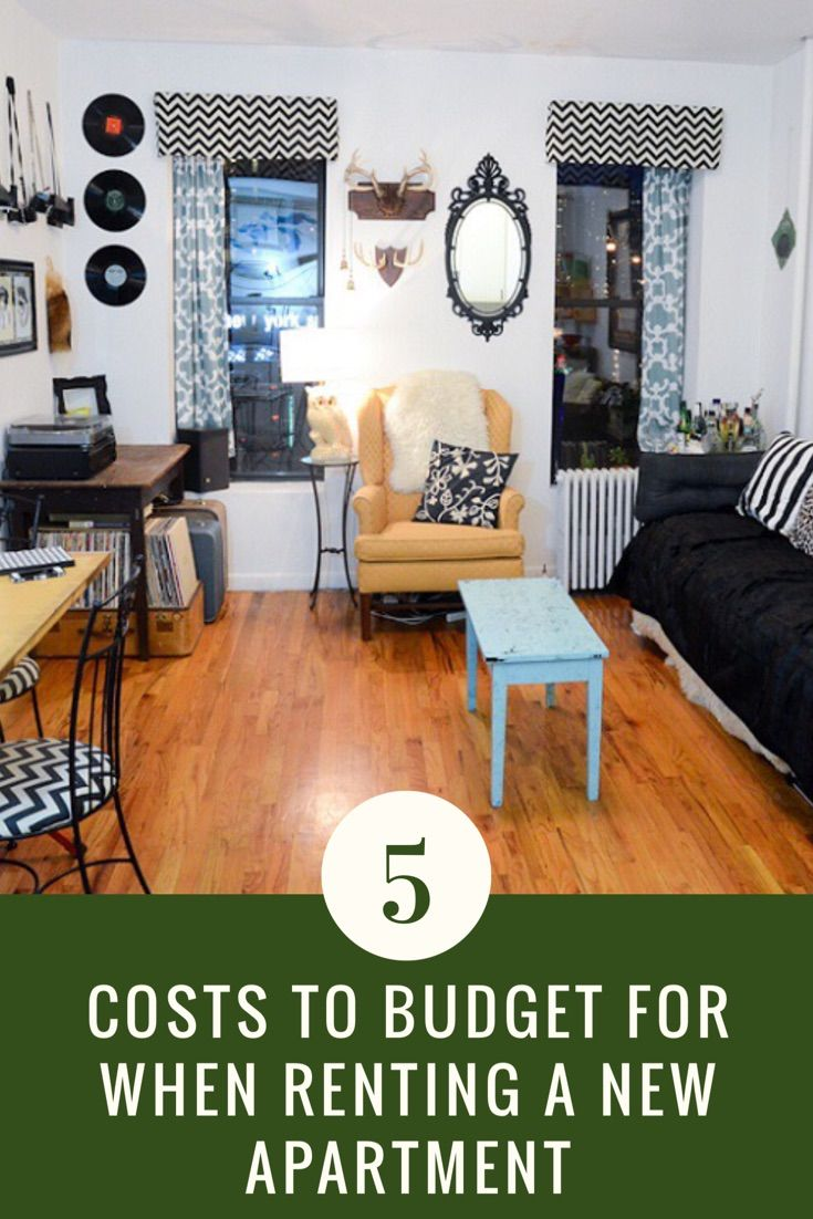 Click through for what to expect when you move into your first apartment.