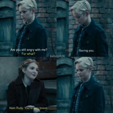 liesel and rudy relationship problems