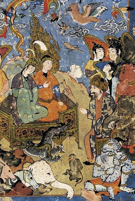 King Solomon and the Queen of Sheba Iran (1500s)