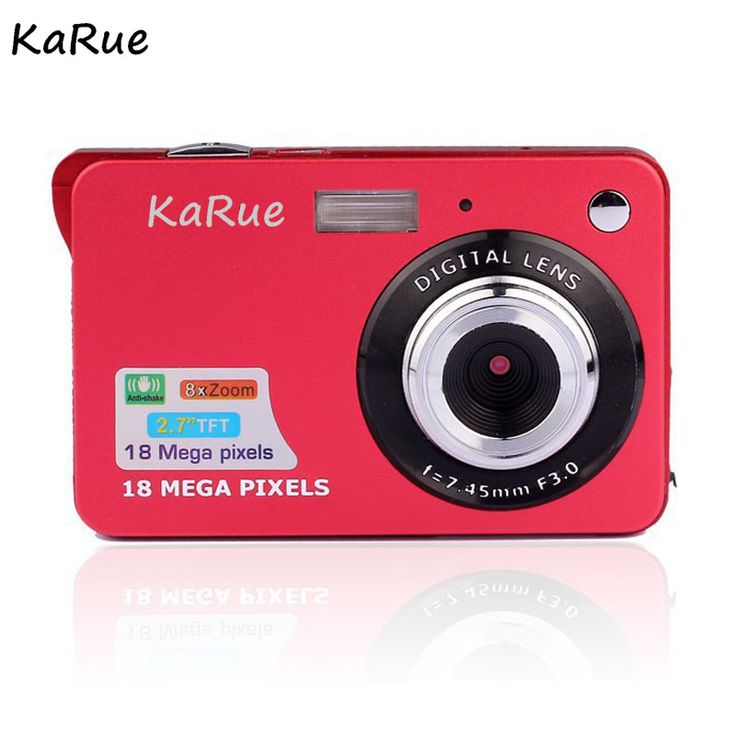 KaRue 2 7 TFT HD Digital Camera 18MP 8x Zoom Video Camera Smile Capture Mini Camera. #KaRue #Digital #Camera #18MP #Zoom #Video #Smile #Capture #Mini