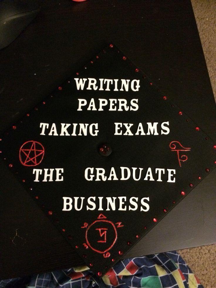 """""""Ich bin gerade fertig mit meiner Abschlusskappe! Ziemlich stolz darauf. :)"""" Ich möchte nichts tun"""