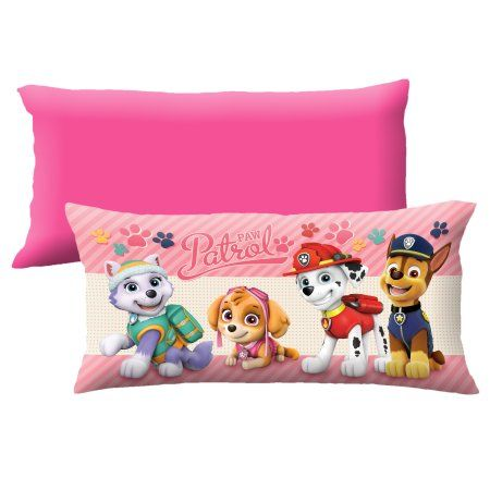 Paw Patrol Girl Pup Race Body Pillow Pink Products