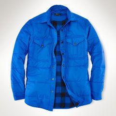 Channel-Quilted Workshirt - Polo Ralph Lauren Sale - RalphLauren.com