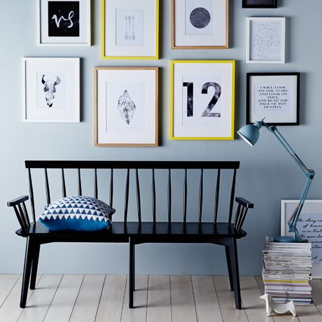 Barnet bench in black was $549, NOW $489 #freedomautumnsale
