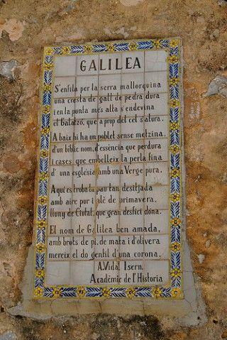 Galilea: una perla en la Sierra de Tramuntana   Una Arjonera en Mallorca