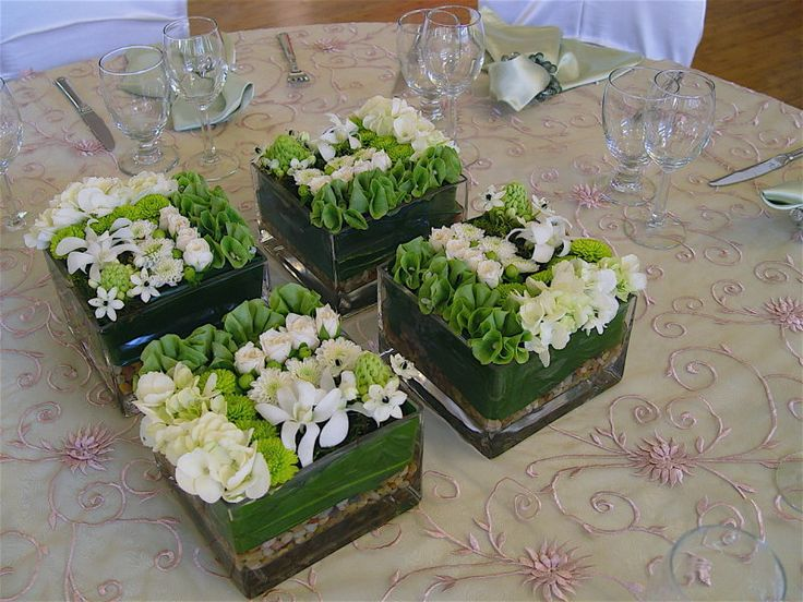 Group Pave' Flower arrangements for an amazing look!