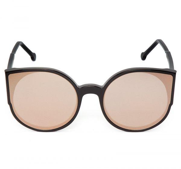 Retrosuperfuture Oculos De Sol Com Armacao Preto Oculos De Sol