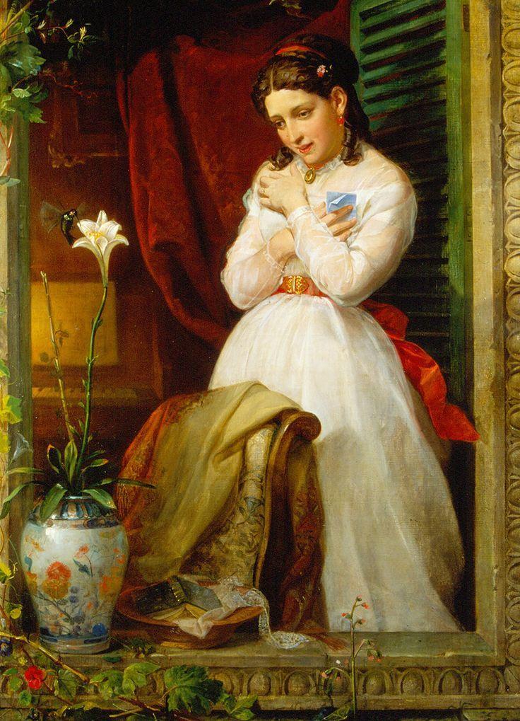 El amor del colibrí, 1869.