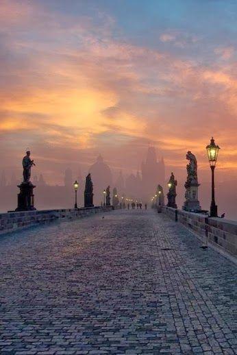 Sunrise, Prague Czech Republic