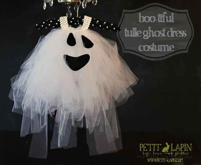 tulle ghost dress costume from Petit Lapin