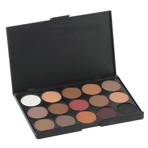 Pro 15 Colors Eyeshadow Makeup Warm Nude Shimmer Eyeshadow Palette Cosmetic. Click visit to buy #EyeShadow