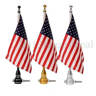 #Motorcycle #american usa flag pole luggage rack mount for harley davidson #yamah,  View more on the LINK: http://www.zeppy.io/product/gb/2/152223777641/