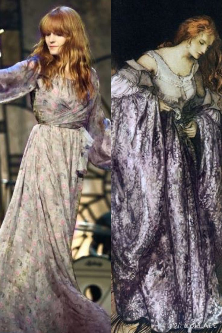 """Florence Welch in Luisa Beccaria vs Arthur Rackham's """"The True Sweetheart"""""""