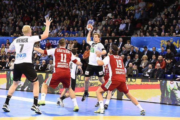 """Handball WM 2017: Deutschlands """"bad boys"""" schlagen Ungarn.  Handball WM 2017 Frankreich: Deutschlands """"bad boys"""" haben bei der ..."""