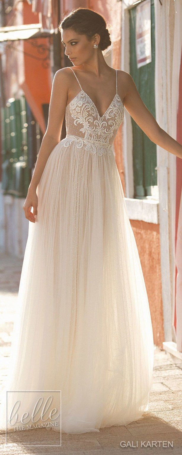 Gali Karten Wedding Dresses 2018 - Burano Bridal Collection #weddingdress #bridalgown #weddingdresses