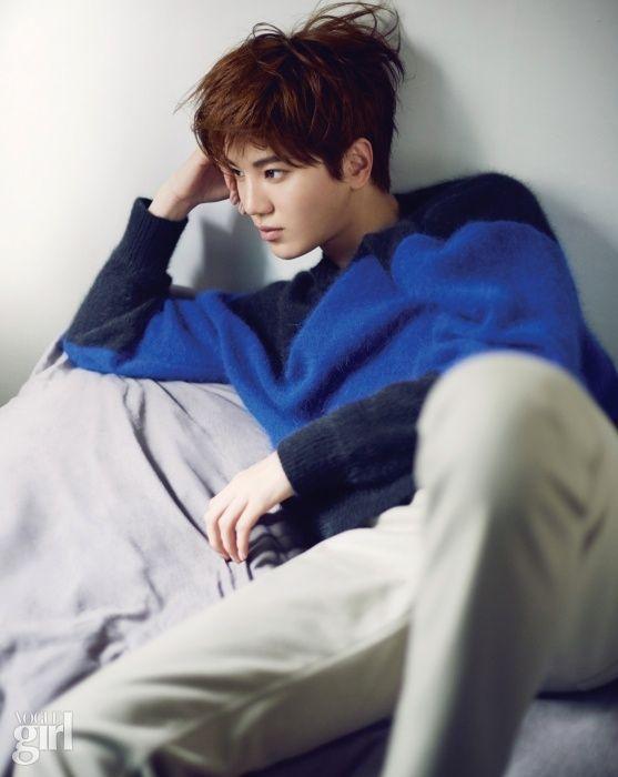 Sung Jong - Vogue Girl Magazine November Issue '14