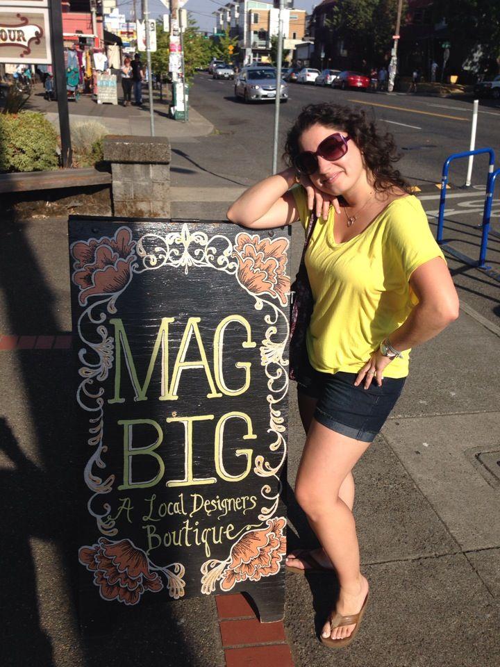 Mag-Big. Klær.  Også store størrelser.