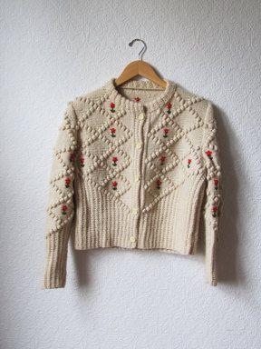1950s Vintage Cardigan Sweater