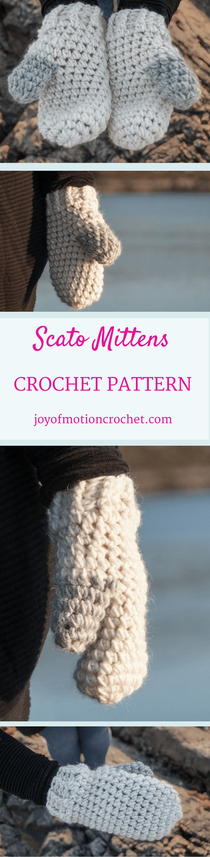 Scato Mittens Crochet pattern. mittens crochet pattern design. Intermediate crochet pattern. Mittens crochet pattern. Crochet pattern for mittens. Crochet pattern for her. Gift crochet pattern. Intermediate mittens crochet pattern. Lovely crochet mittens. Click to learn more or pin it for later. via @http://pinterest.com/joyofmotion/