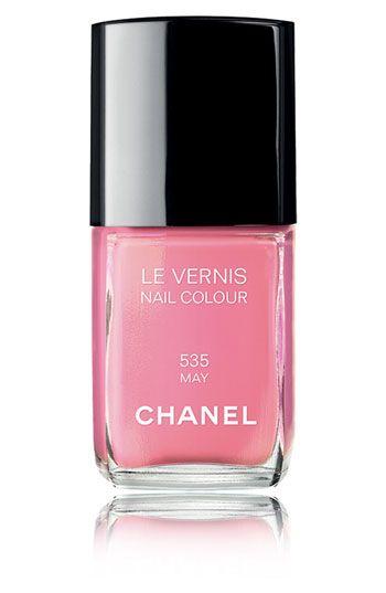 "Chanel ""May"" nail polish...I think I need this this cuz ya know my birthday is in may ;)"