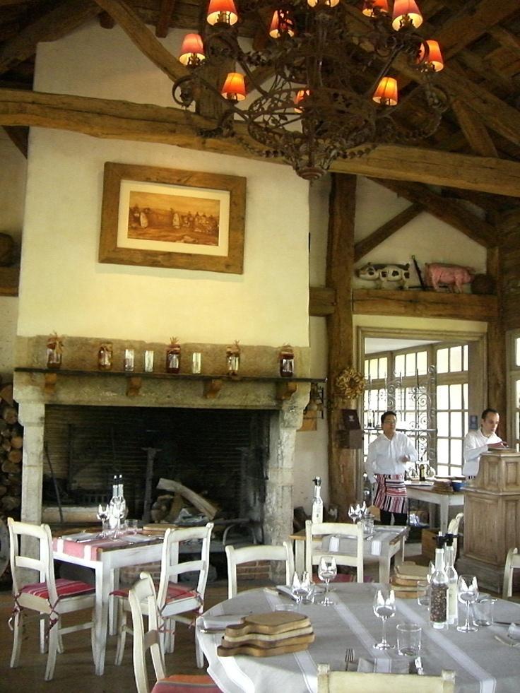 """The """"Bistro"""" Restaurant, Hotel Les Sources de Candalie; Bordeaux, France"""