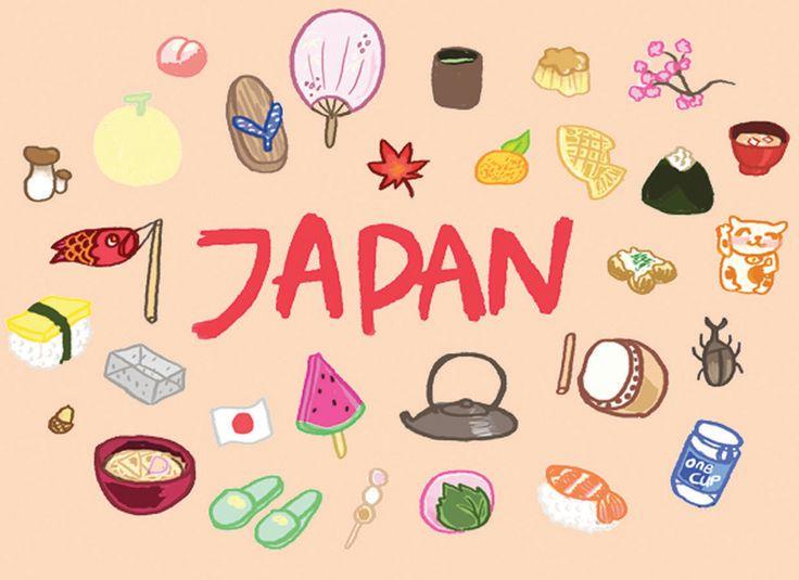 Japan Illustration Vector paint tube by Kitt Byrne   #illustration #illustrated #digital #art #japan #japanese #cuisine #food #drinks #fan #geta #type #carp #sushi #tea #taiko #mochi #miso #nippon #nihon #beetle #onigiri #sakura #manekineko