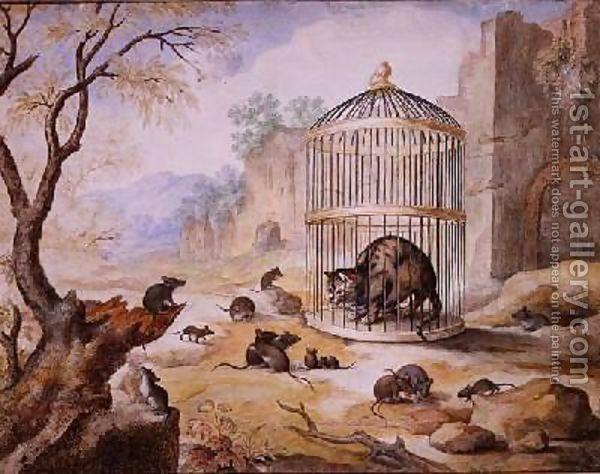 Famous Gottfried Mind Paintings