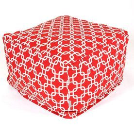 Majestic Home Goods Red Bean Bag Chair 85907210204