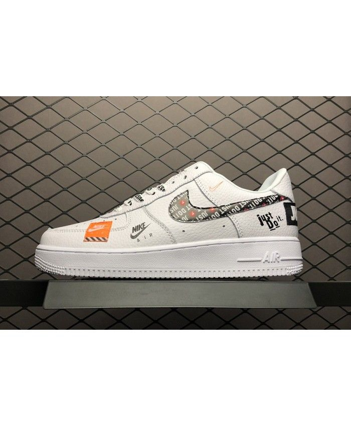 online retailer b8257 82d48 Latest Nike Air Force 1 07 Premium Just Do It White Shoe