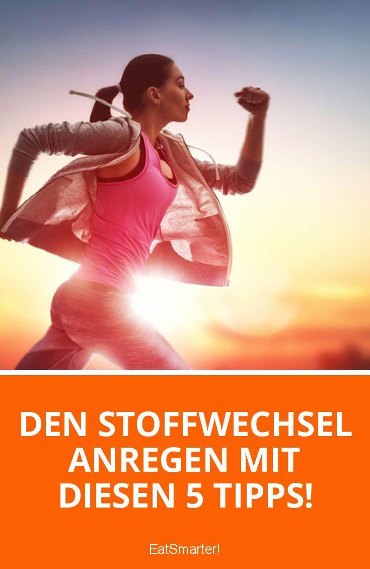Den Stoffwechsel anregen mit diesen 5 Tipps! | eatsmarter.de