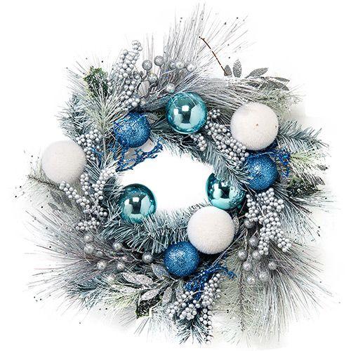 decoracao de arvore de natal azul e prata : decoracao de arvore de natal azul e prata: De Natal Azul no Pinterest