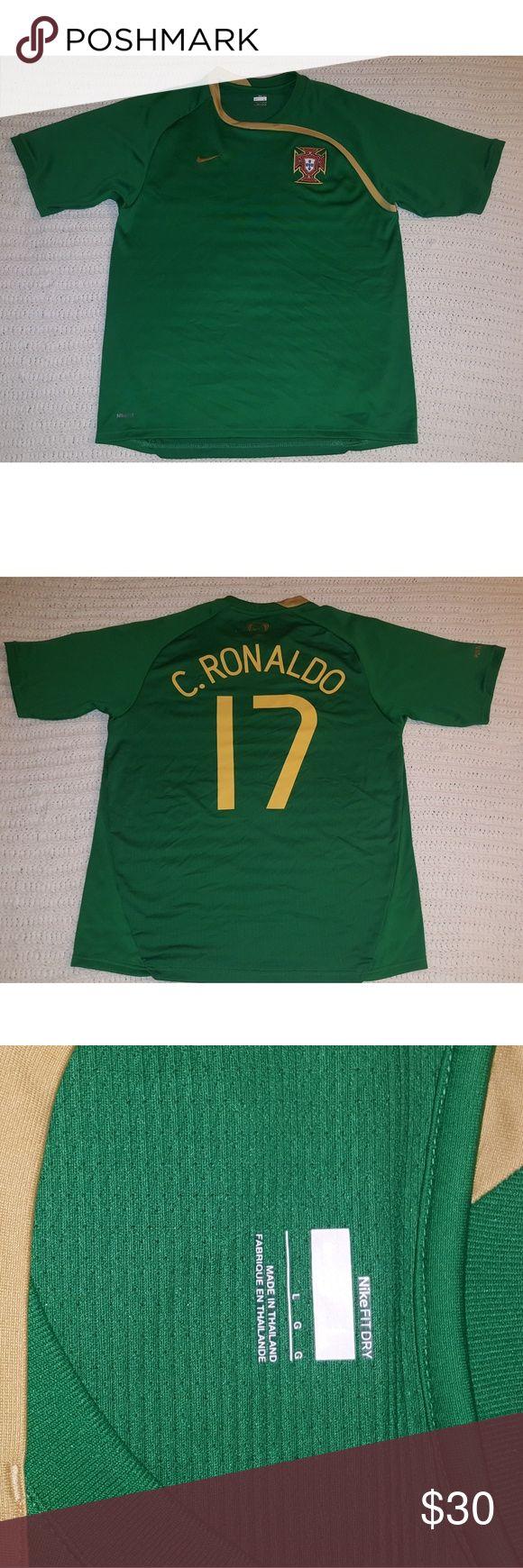 Portugal Jersey Green Portugal Jersey, #17 Christiano Ronaldo Nike Shirts Tees - Short Sleeve