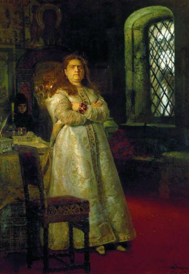 Царевна Софья Алексеевна. 1879 - Репин Илья Ефимович