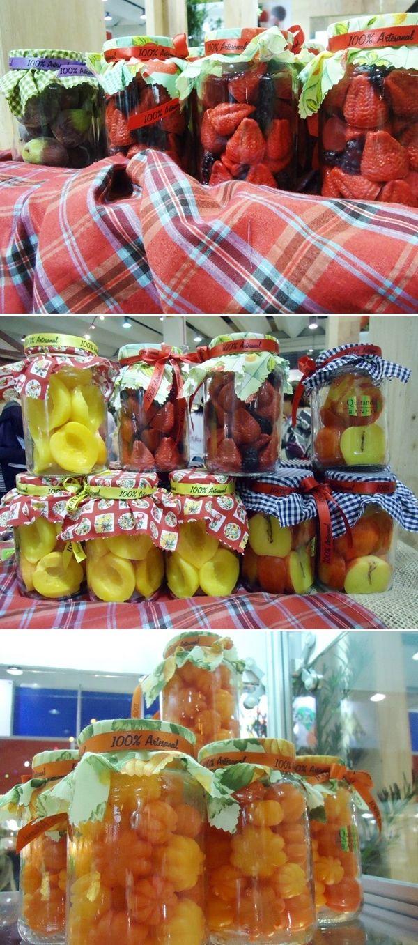 Sabonetes de frutas