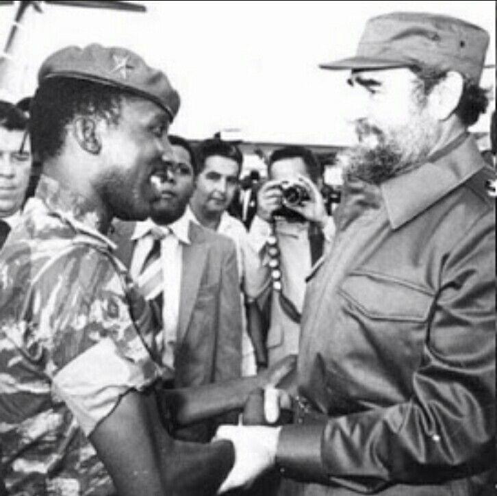 Thomas Sankara & Fidel Castro
