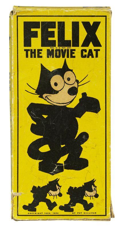 Felix the Cat, original box