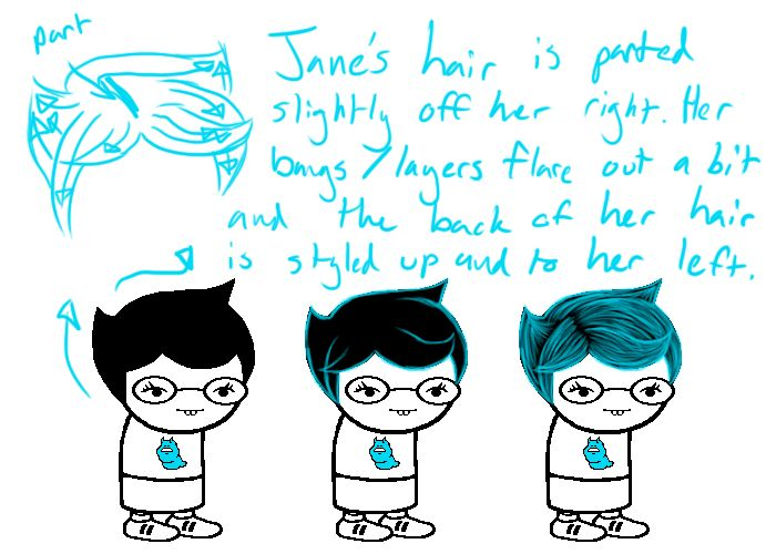 jane crocker hair map google search characterspecific