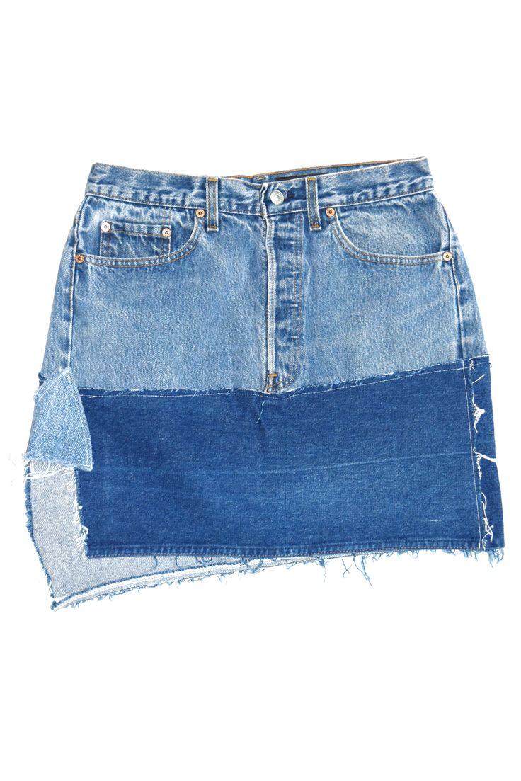 Levis denim skirt, Denim skirt for women, REWORKED DENIM SKIRT, denim skirt , denim skirt for girls , levis denim skirt