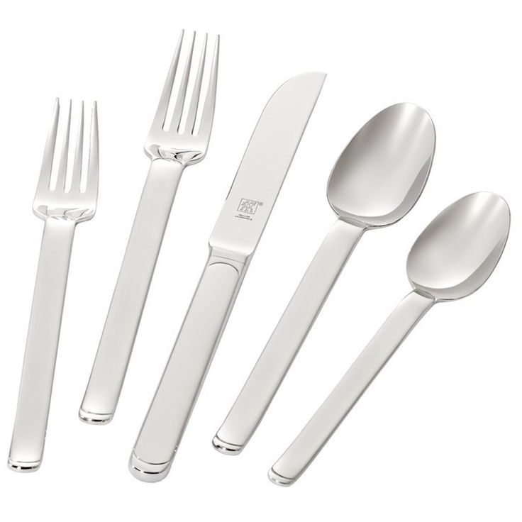 ZWILLING J.A. Henckels Captivate 5-pc 18/10 Stainless Steel Flatware Place Setting