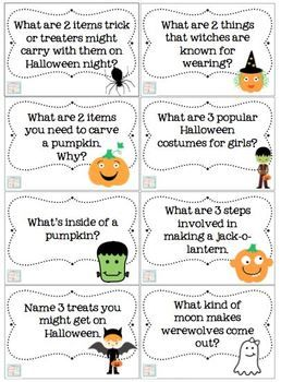HALLOWEEN TRIVIA & GAMES - TeachersPayTeachers.com