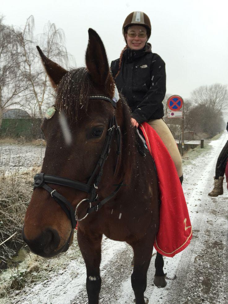 Elsker en ride tur i sne ❤️