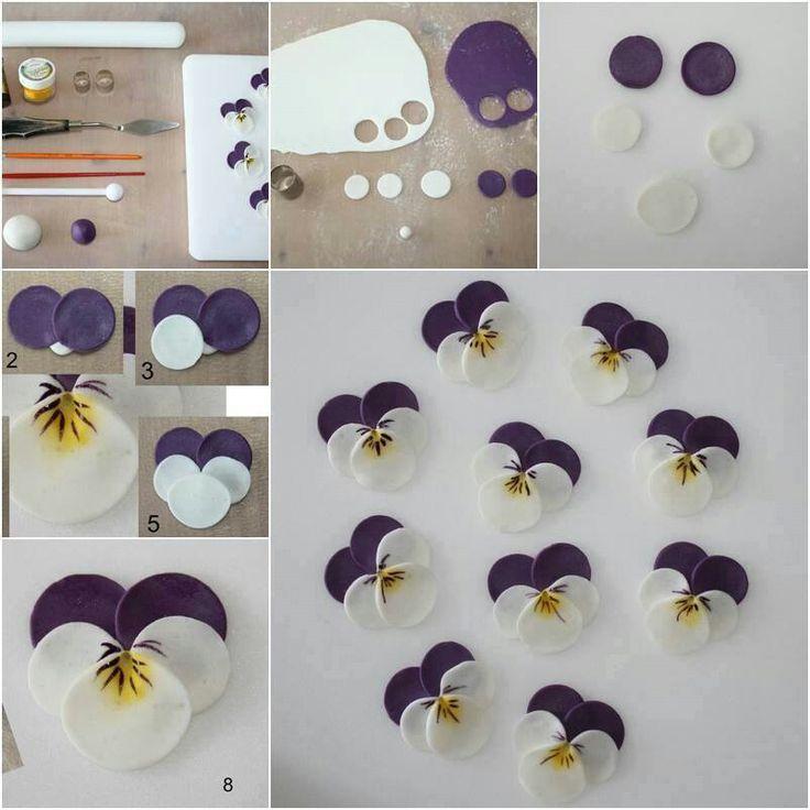 Super Tuto Polymere Fleur Orchidé – Idée d'image de fleur II46