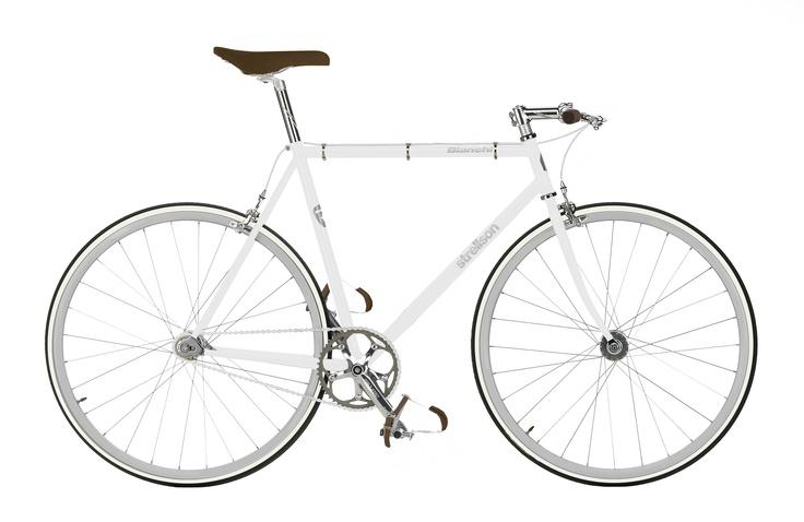 Strellson meets Bianchi - White Edition #strellson #bike #white #bianchi