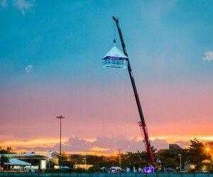 Bar suspenso Sky Experience é atração em Jurerê Internacional até o dia 15 de janeiro | Notícias | Deolhonailha