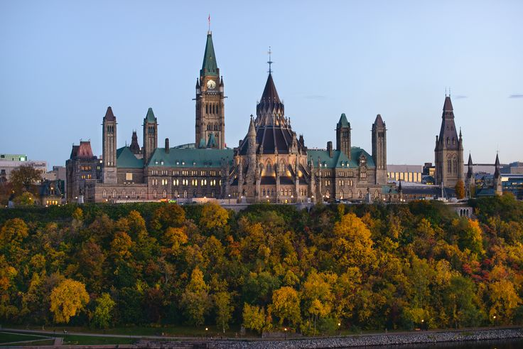 Parliament of Canada [OC - 1920x1200] via Classy Bro