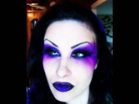 Gothic Fairy Makeup Ideas | Make Up Dead Fairy - Evil/Dead Fairy Make Up/ Face Paint Ideas ...