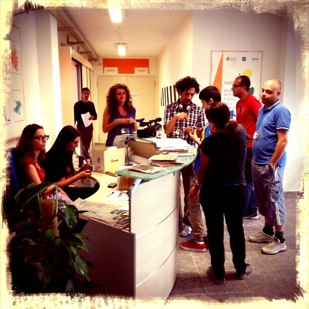Ma è qui che ci si iscrive al #Cesp di #Nuoro ? Foto di #Graziano #Fronteddu