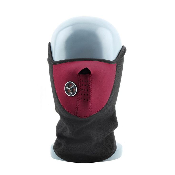 Thermal Neck Warmers Fleece Balaclavas Ski Mask Ride Bike Cap CS Mask Headgear Skiing Sport Half Face Mask Snowboard Neck Veil